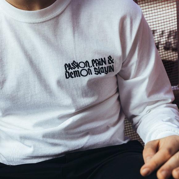 d9e91e8c Off-White Shirts | Off White Kid Cudi Tour Mr Rager Co Virgil Abloh ...